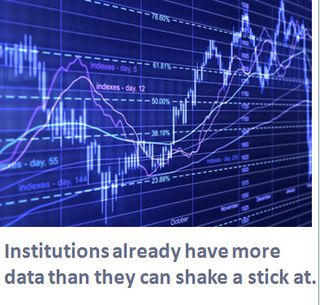 Institutions already have more data